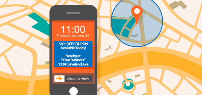 Alert Your Customers to Nearby Savings & Events with GPS Coupons!